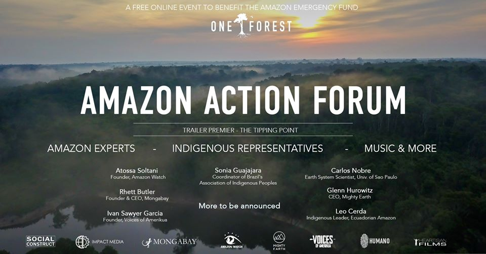 One Forest. Amazon Action Forum – May 3, 2020