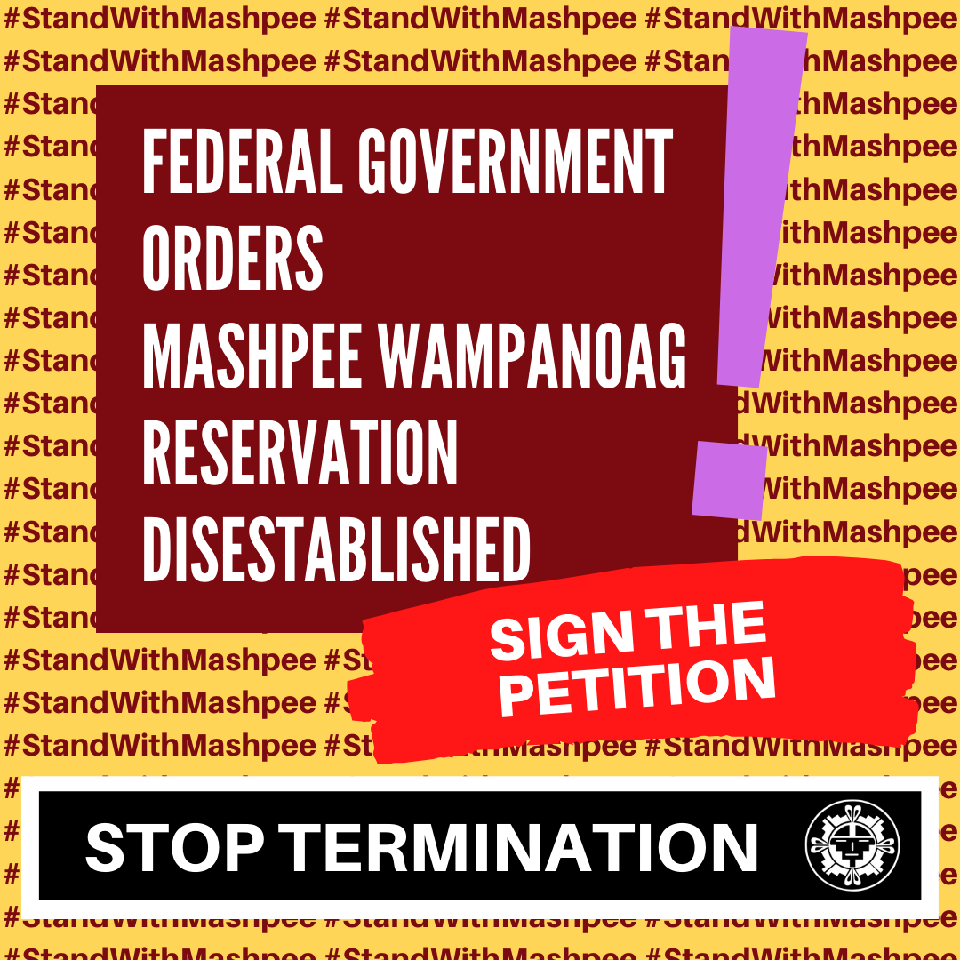 Land is Sacred: Stand With the Mashpee Wampanoag Tribe